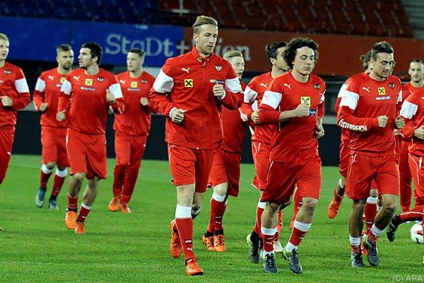ÖFB-Team weiter auf Platz zehn