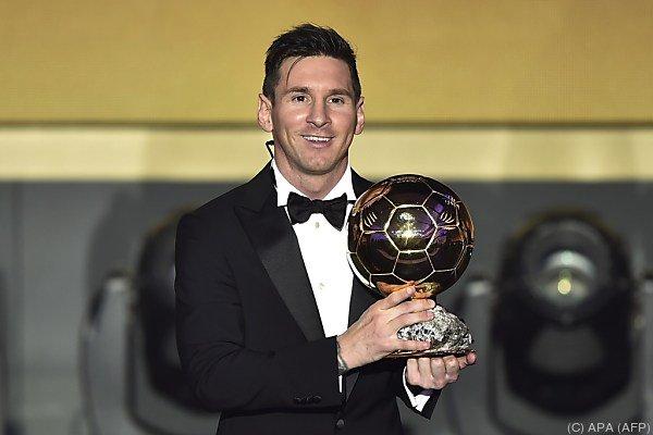 Ballon d'Or für Messi
