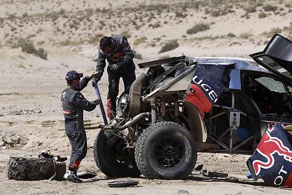 Kein guter Tag für Loeb in Argentinien