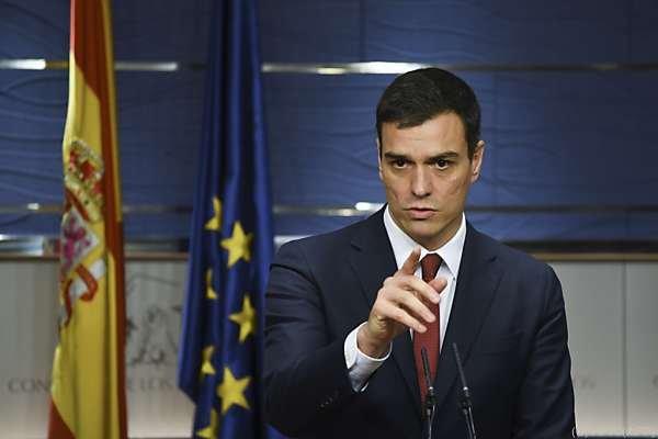 Pedro Sanchez ist nun auf der Suche nach einer Mehrheit