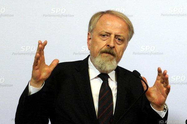 SPÖ-Bundesgeschäftsführer Schmid