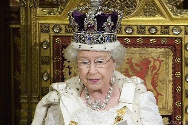 Der Diamant ist zentrales Stück der Staatskrone der Queen