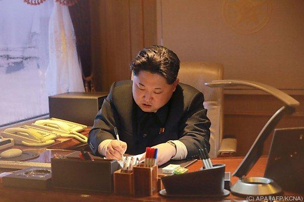 Neue Sanktionen gegen Kim Jong-un und sein Land