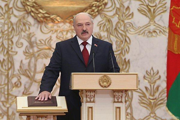 Lukaschenko regiert das Land seit 20 Jahren