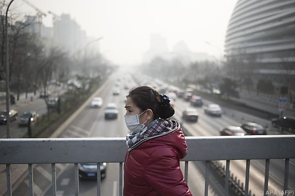 Luftverschmutzung ist in China enorm