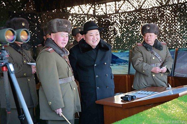 Nordkorea veranstaltete wieder einmal einen Raketentest