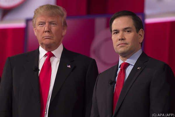 """Trump: Rubio """"hat die größten Ohren, die ich jemals gesehen habe"""""""