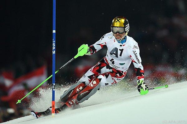 Marcel HIrscher bestreitet am Samstag den Riesentorlauf