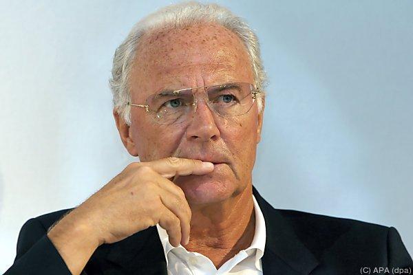 Geldstrafe für Beckenbauer in Höhe von 7.000 Schweizer Franken