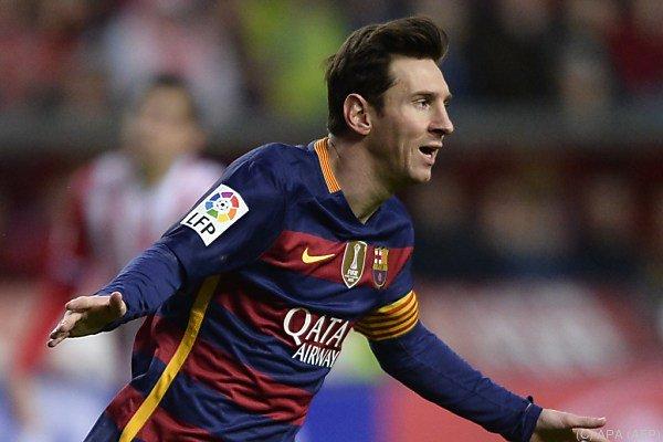 Messi hält bei 301 Liga-Toren