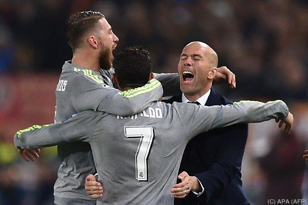 Erfolgreiches Champions-League-Debüt für Real-Trainer Zidande