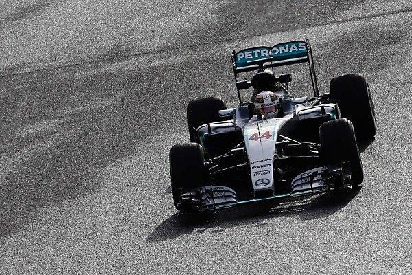 Hamilton sammelte in Montmelo die ersten Kilometer der neuen Saison