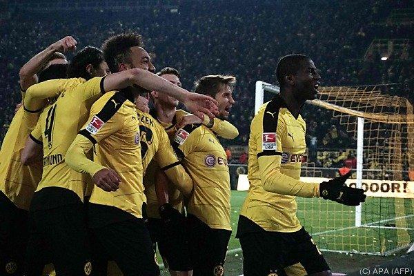 Am Ende jubelten doch die Dortmunder