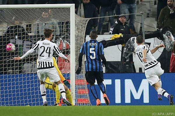 Leonardo Bonucci trifft zum 1:0