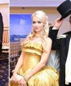 Brooke Shields, Mr. Probz und die Lugners in voller Ballmontur