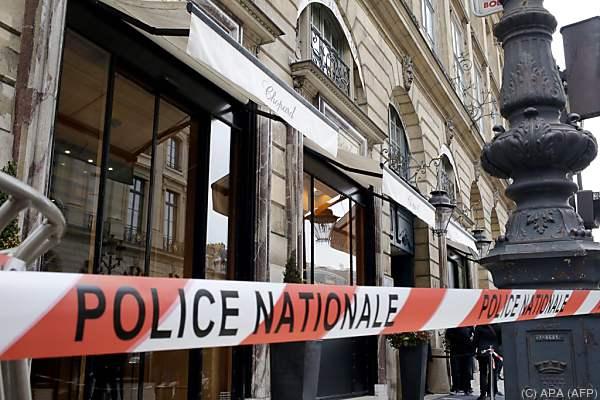 Spektakulärer Überfall im Zentrum von Paris
