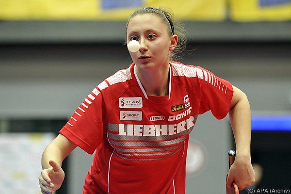 Sofia Polcanova sorgte für Österreichs einzigen Punkt
