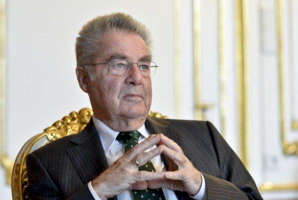 Noch hat Heinz Fischer das Amt des Bundespräsidenten inne