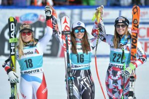 Weirather-Sieg im Super-G in St. Moritz