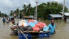 Unwetter in Sri Lanka: Millionen auf der Flucht