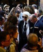 Karl Lagerfeld in Kuba zur ersten Chanel-Show