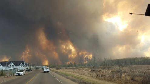 Kanada: 80.000-Einwohner-Stadt wegen Waldbränden evakuiert