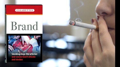 """Tabakproduktion ab jetzt nur mehr mit """"Schockbildern"""""""