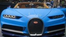 Die Polizei Dubai geht mit dem Bugatti auf Streife
