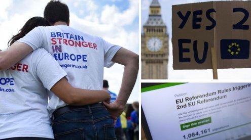Viele Briten bereuen ihre Wahl und wollen zweites Referendum
