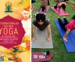 Internationaler Yoga Tag in Wien am 19. Juni 2016: Gratis-Yoga in Stadtpark & Co.