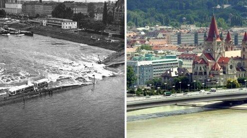 Der Einsturz der Reichsbrücke jährt sich heuer zum 40. Mal