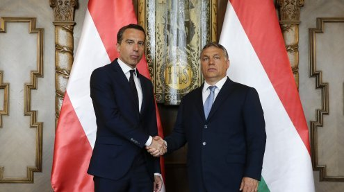 Kanzler Kern und Orban wollen ein neues Kapitel aufschlagen