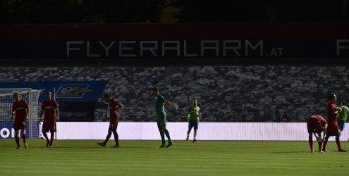 Licht aus: Admira Wacker verliert chaotische Partie gegen Liberec