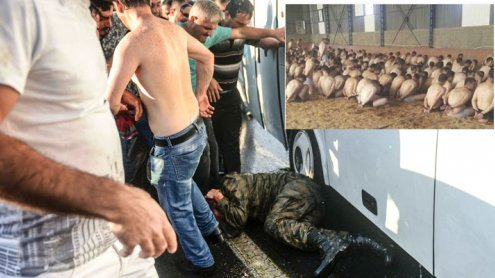 Schock-Bilder: Säuberungswelle nach Putschversuch in der Türkei