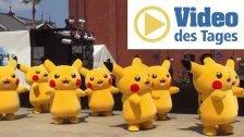 Tanzende Pikachus auf der Straße gesichtet!