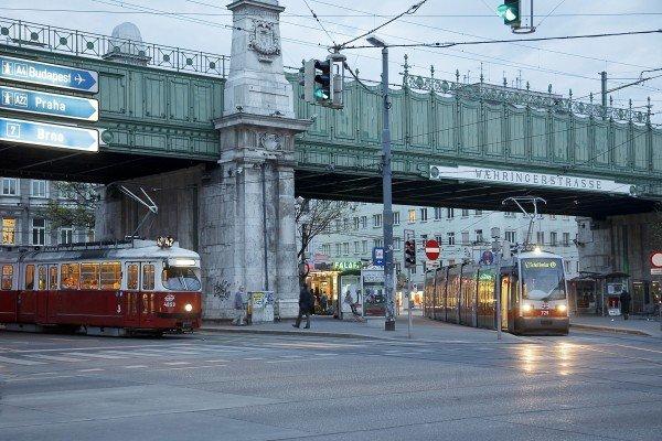 Der Vorfall geschah vor der U6-Station Währinger Straße