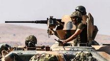 Dutzende Tote bei türkischer Offensive