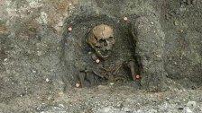 Archäologen legten Gräber aus Mittelalter frei