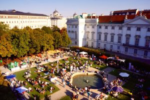 """in the park""-Fest vor dem 25hours Hotel: Kulinarik und Party"