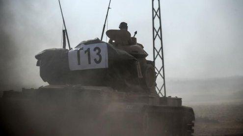 """Kampf gegen den """"IS"""": Türkische Panzer rollen in Nordsyrien ein"""