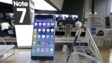 Samsung tauscht Galaxy Note 7 in Österreich aus