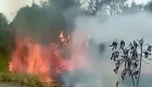 Peru: Feuer frisst sich durch Amazonasgebiet
