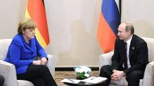 Merkel trifft Putin am 19. Oktober in Berlin