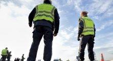 Polizei bereit für längere Kontrollen an der Grenze