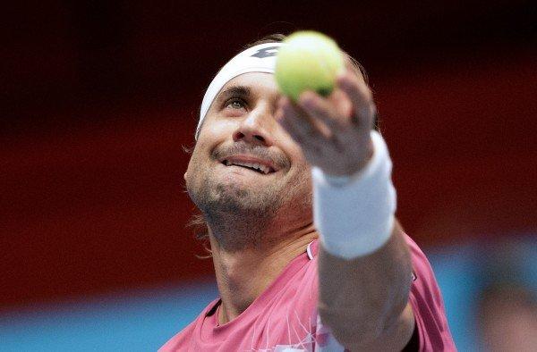 David Ferrer konnte sich gegen Kyle Edmund im Erste Bank Open Tennis Turnier durchsetzen.
