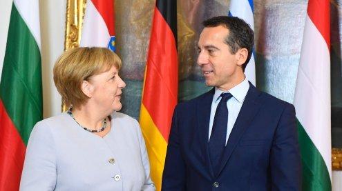 """Merkel-Spruch """"Wir schaffen das"""" laut Bundeskanzler Kern überholt"""