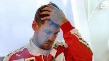 Erste öffentliche Kritik an Ferrari-Fahrer Vettel