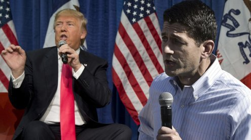Trotz Kritik: Republikanische Parteiführung hinter Trump