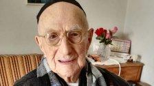 Ältester Mann der Welt feierte Bar Mizwa nach