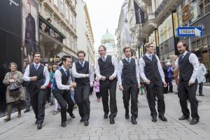 Voice Mania bringt Balkon-Konzerte in die City: 19. Internationales A Cappella-Festival in Wien